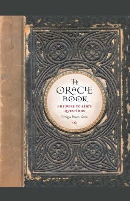 the oracle book georgia routsis savas epub