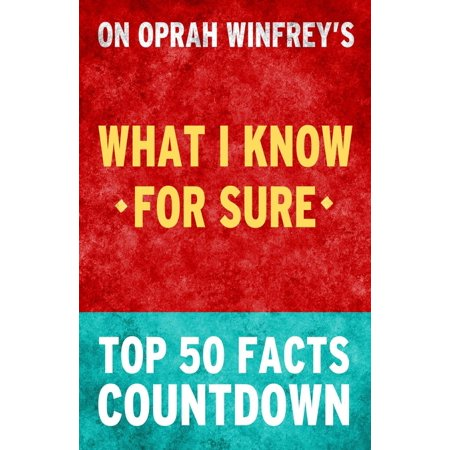 oprah winfrey what i know for sure ebook dl